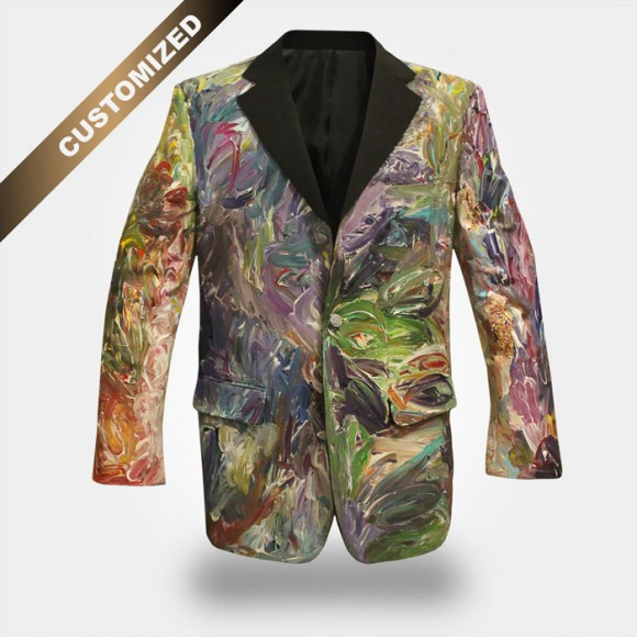 CUSTOMIZED WEARABLE ART JACKET