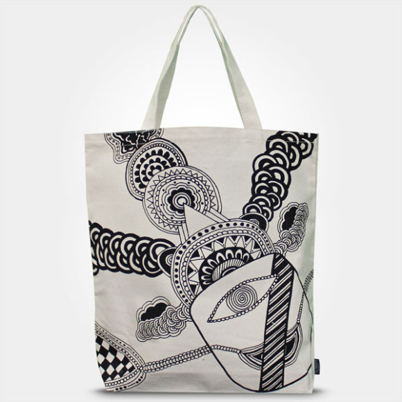 ART INSPIRED TOTE BAG