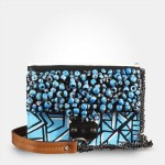 blueclutchwithbeadswithshoulderstrap